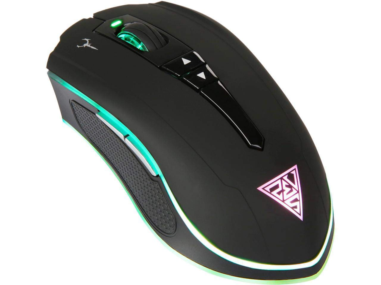 Mouse Gamer :  GAMDIAS Optical Wired/Wireless Double Level R