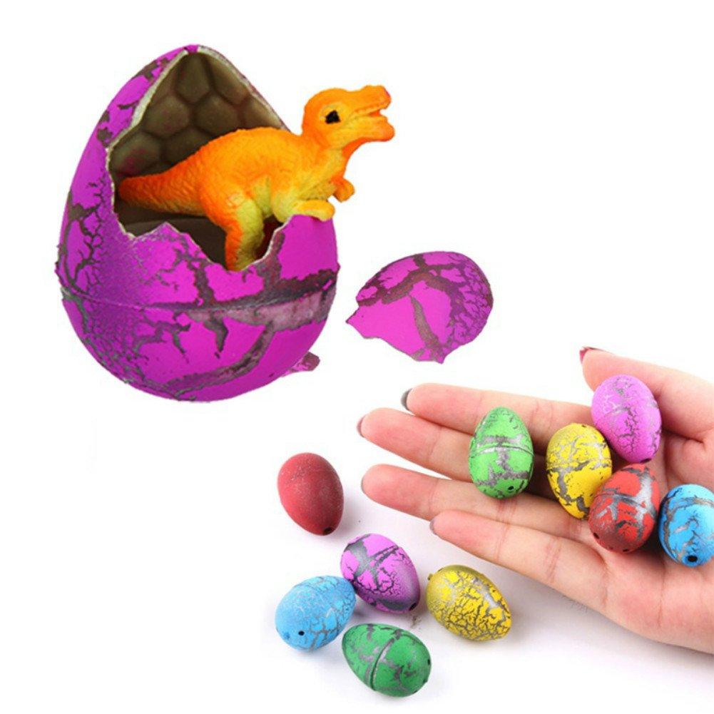 Lymocha 5 Piezas-Set Coloridos Huevos de Dinosaurio Juguetes para niños, Juguetes educativos y Divertidos Juegos de utilería