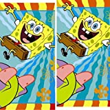SpongeBob Buddies Party Tablecovers - 2 Pieces