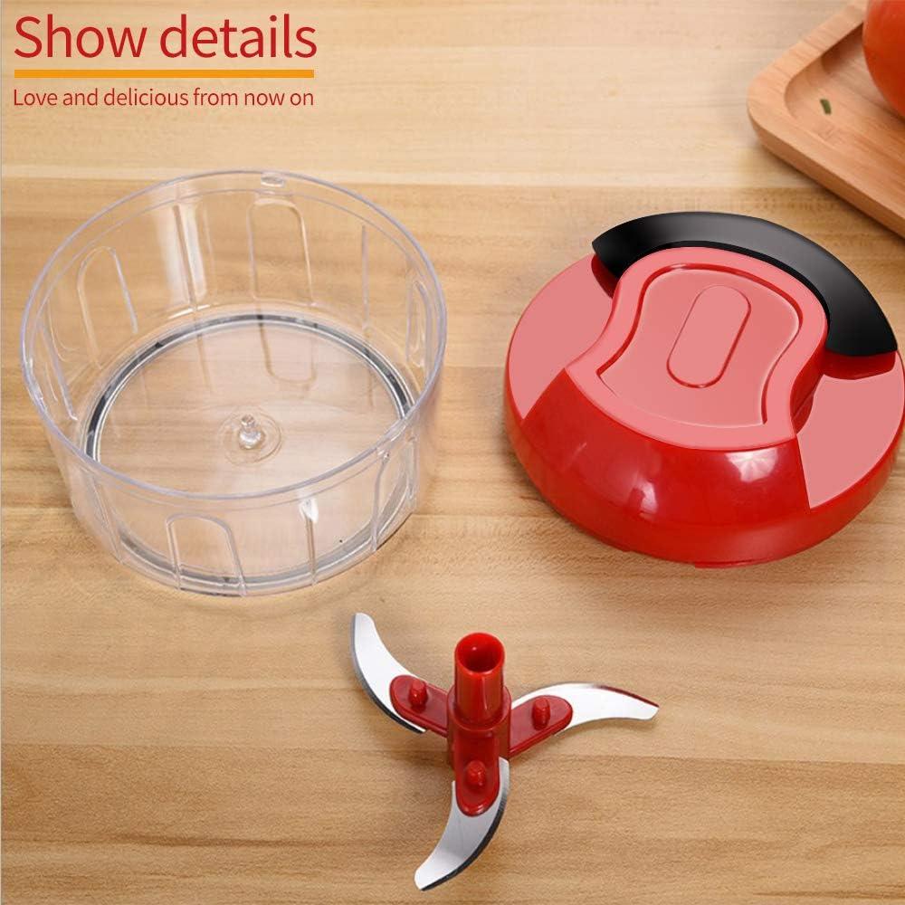 cipolla aglio e tritatutto multifunzione frutta verdura Trituratore frullatore manuale tenuto in mano