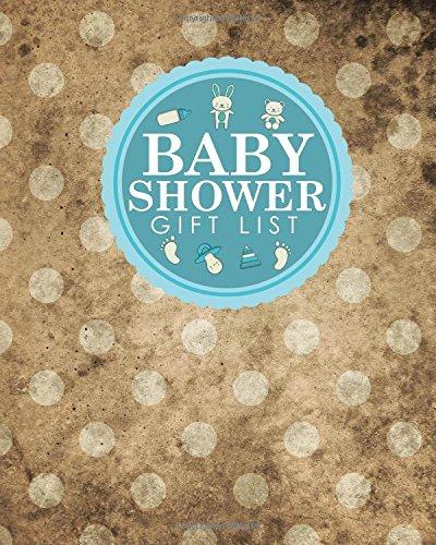 Baby Shower Gift List: Baby Shower Gift Record Book, Gift Notebook, Gift Journal, Gift Registry List, Recorder, Organizer, Keepsake, Vintage/Aged Cover (Volume 61) pdf