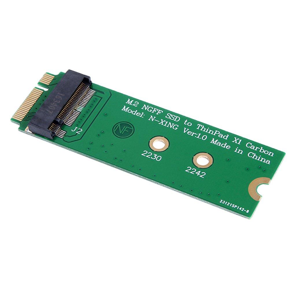 Homyl Adaptador M.2 (M2 NGFF B Key SATA) para Montar SSD M.2 en ...