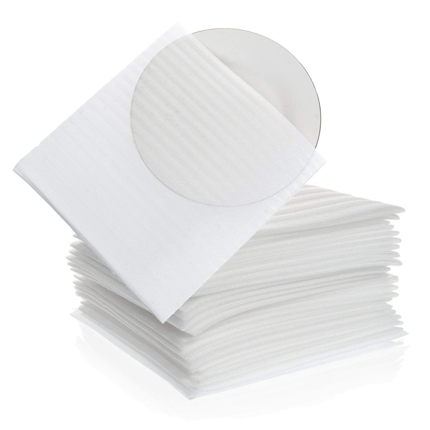 "Foam Wrap Cup Pouches 9 1/8"" x 9 3/4"" (30 Count), Cushion Pouches to Protect Dishes, Glasses, Porcelain & Fragile Items, Packing Supplies for Moving by California Basics"