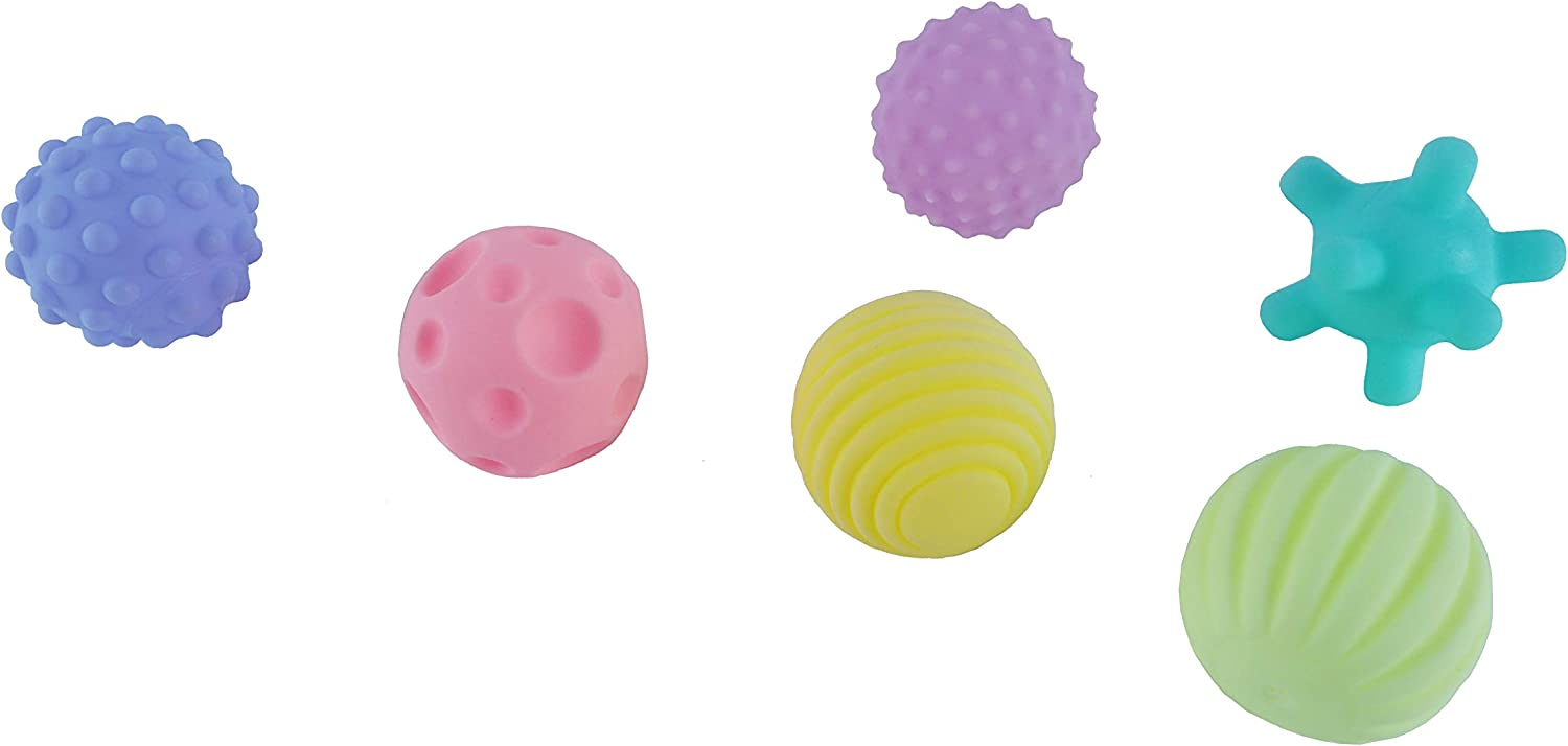 sienya toys Baby Hand catching Ball Touch Ball Early Education Training Educational Toy Multi-Texture Set