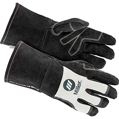Miller Electric Mens MIG Welding Gloves, 271889, Size XLarge: Industrial & Scientific