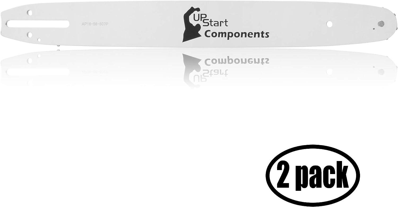UpStart Components - Juego de 2 Barras de Repuesto para Motosierra Western Auto 110 (16