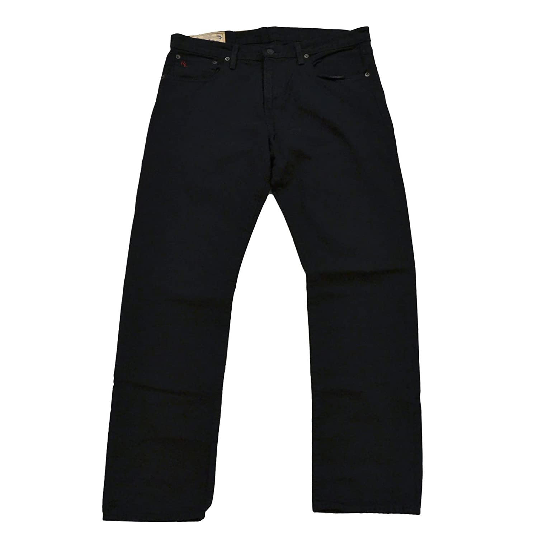 b8cc8a0d Ralph Lauren Mens Classic Fit 867 Jeans (32x30, Hudson Black)