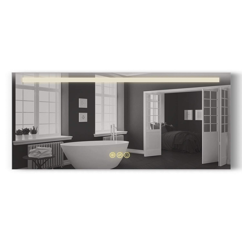 Amazon Com Home B C Danube Bathroom Mirror 54 X24 Horizontal Led