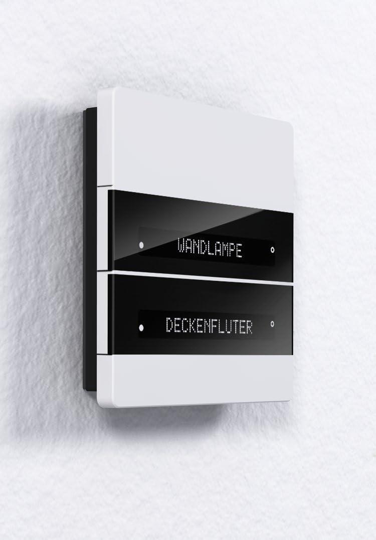 enertex MeTa/® KNX Raumcontroller Standard schwarz