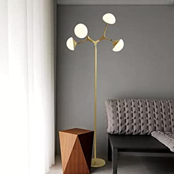Luces de Piso Lámpara de pie, Sala de Estar, Mesa de Centro ...
