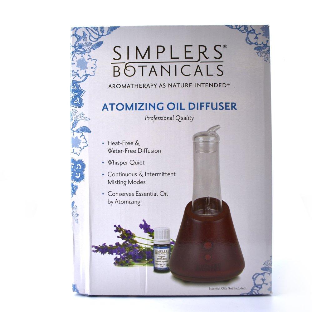 Living Flower Essences Simplers Botanicals Atomizing Diffuser Professional