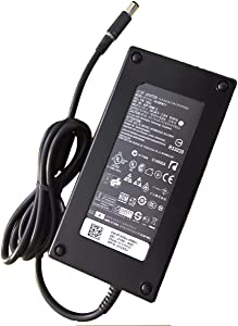 Power Supply 180W 19.5V 9.23A AC Adapter for Dell Alienware 15 R1 R2,Precision 15 7000 7510,17 7710,M4600 M4700 M4800,74X5J JVF3V DA180PM111,OptiPlex 3011 AIO,Inspiron 15 7577,Inspiron One 2350