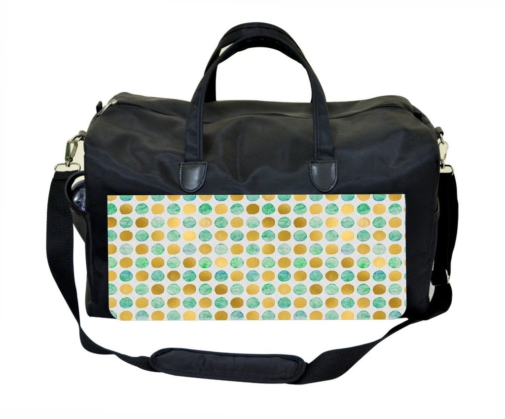 Watercolor Dots Therapist Bag