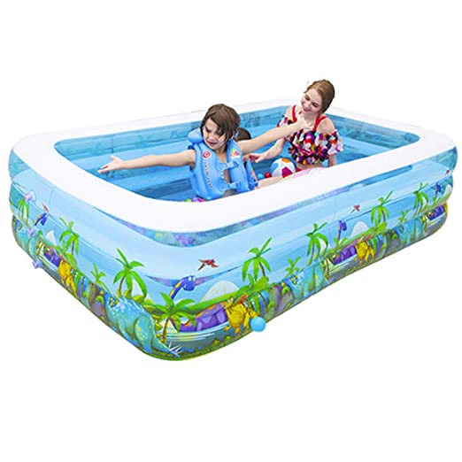 YIRUN - Piscina Hinchable Familiar para niños, pataúño, Plegable ...