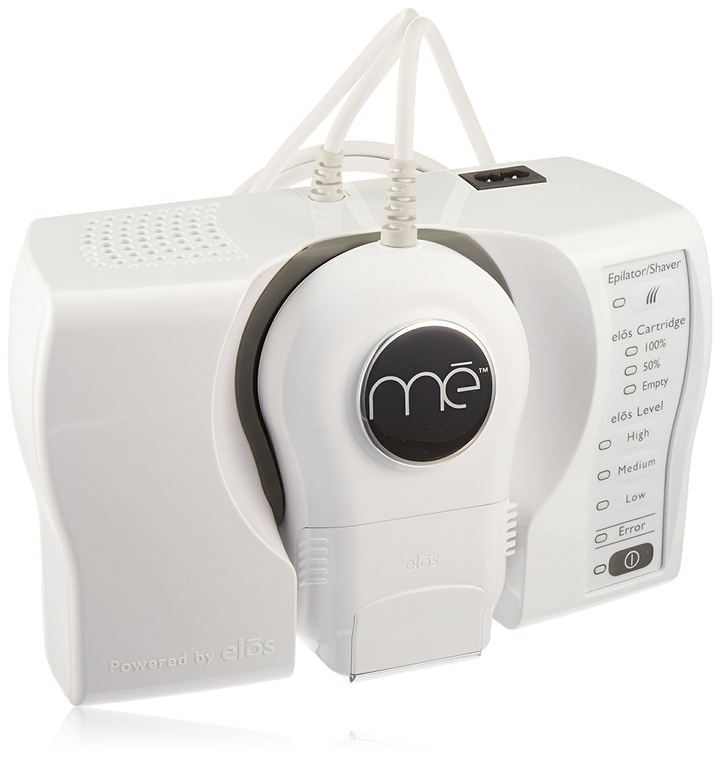 mē Smooth Permanent Hair Reduction Device with FDA Cleared elōs Technology - With Bonus 50K Pulses Cartridge (Total 100,000 Pulses)