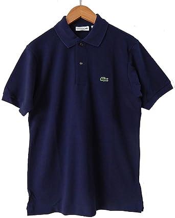 491e4bd86 Lacoste Men s L1212 Classic Pique Polo Shirt Navy Blue Polo Shirt 5 ...