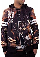 Rocawear Mens Boys Renaissance Hoodie 99 Jacket Varsity College Hip Hop R0036