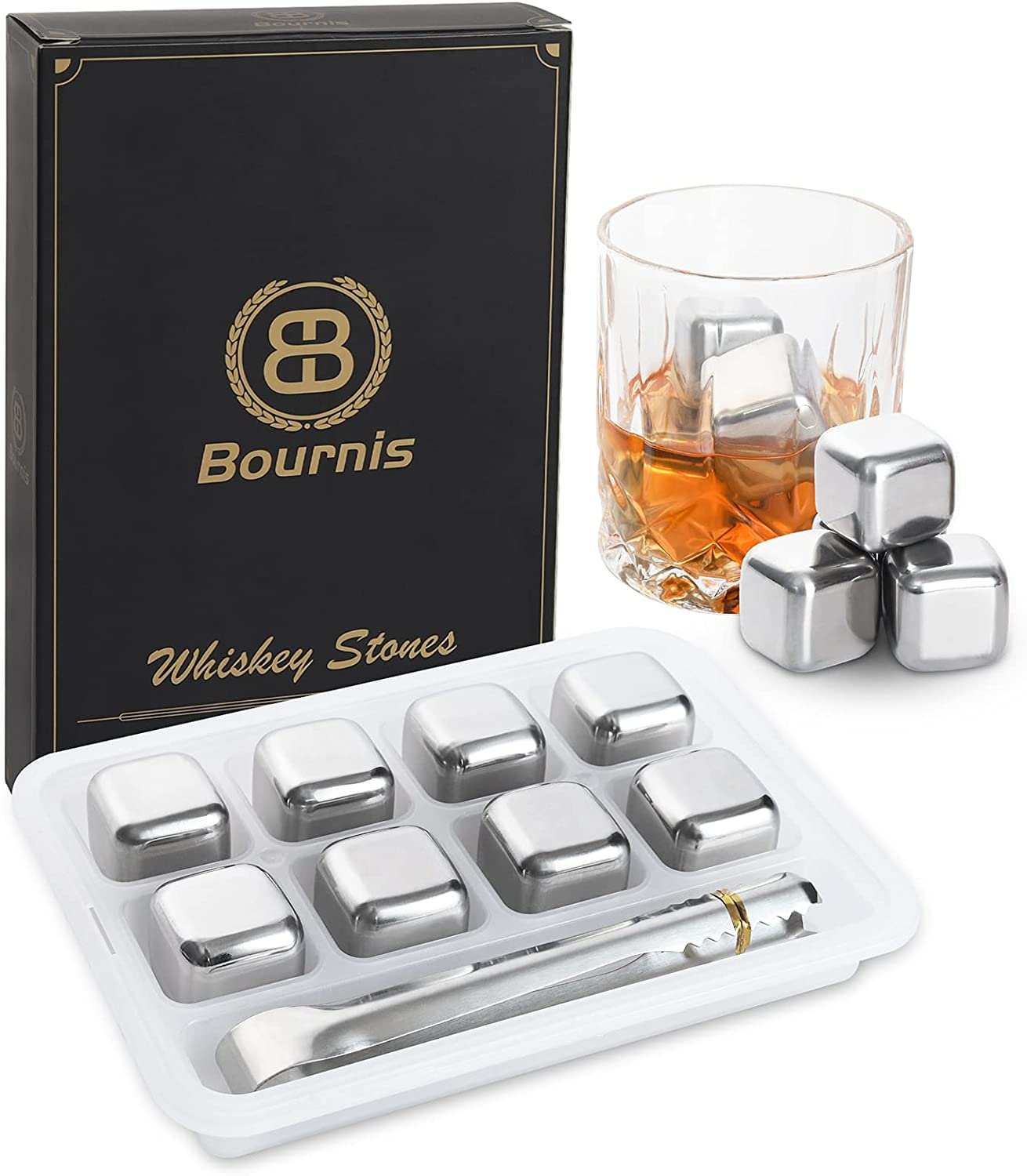 Whiskey Stones quality assurance Gift Set Chilling For Gifts Popular standard Men St Bournis
