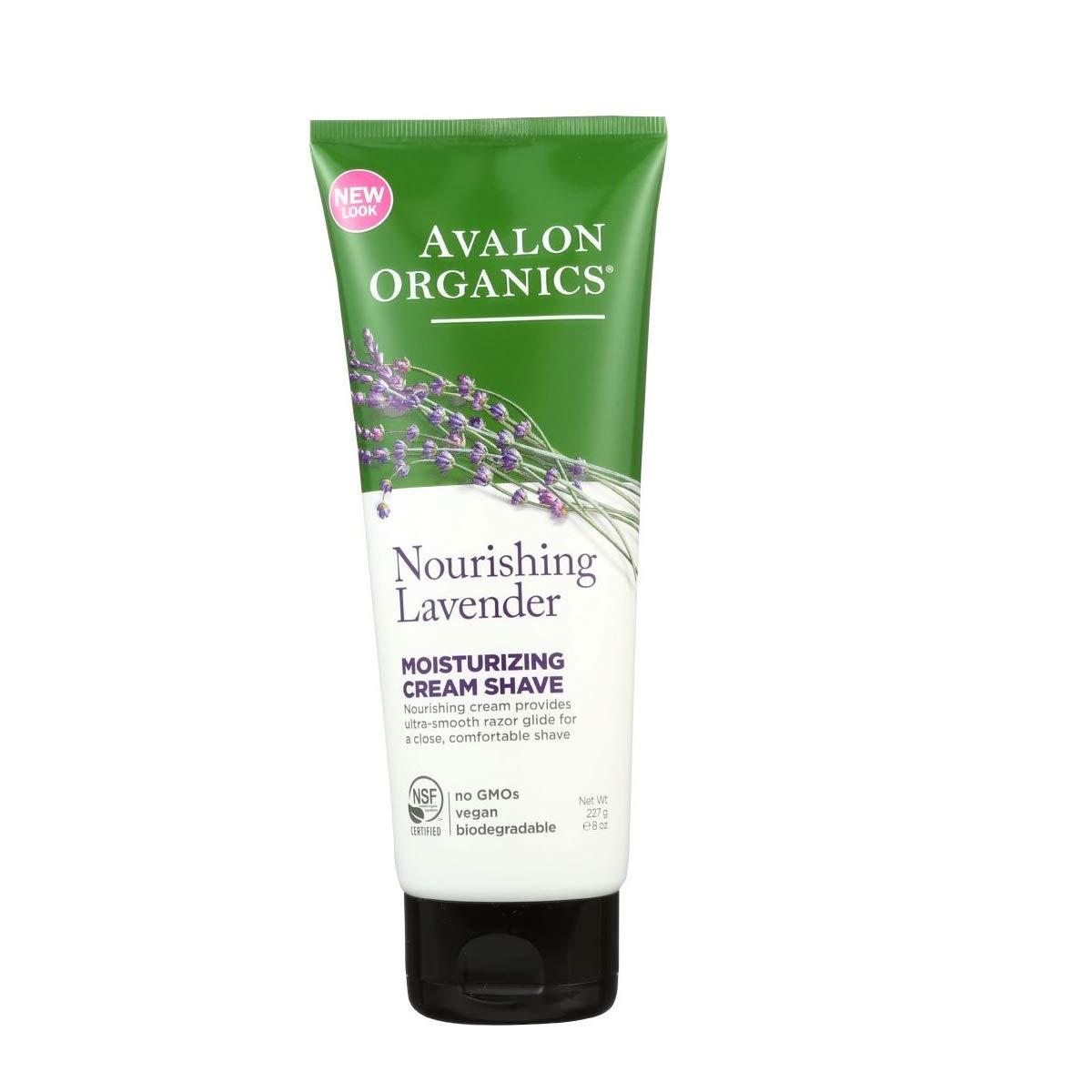 Avalon - Organics Moisturizing Cream Shave - Lavender (8 oz.) 1 pcs sku# 1900108MA