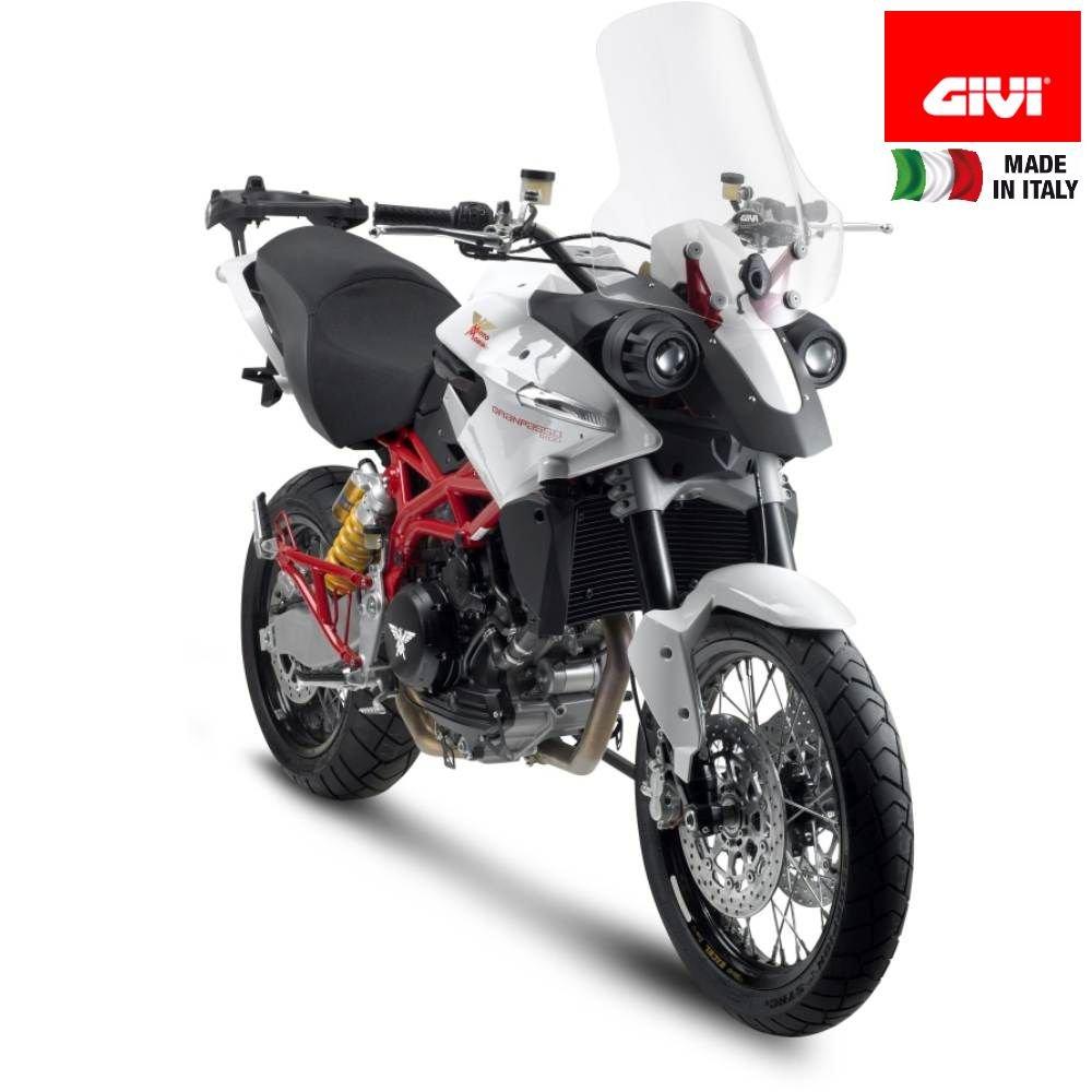 CUPOLINO TRASPARENTE Spoiler PARABREZZA 53CM Morini Gran Passo 1200 GIVI D780ST