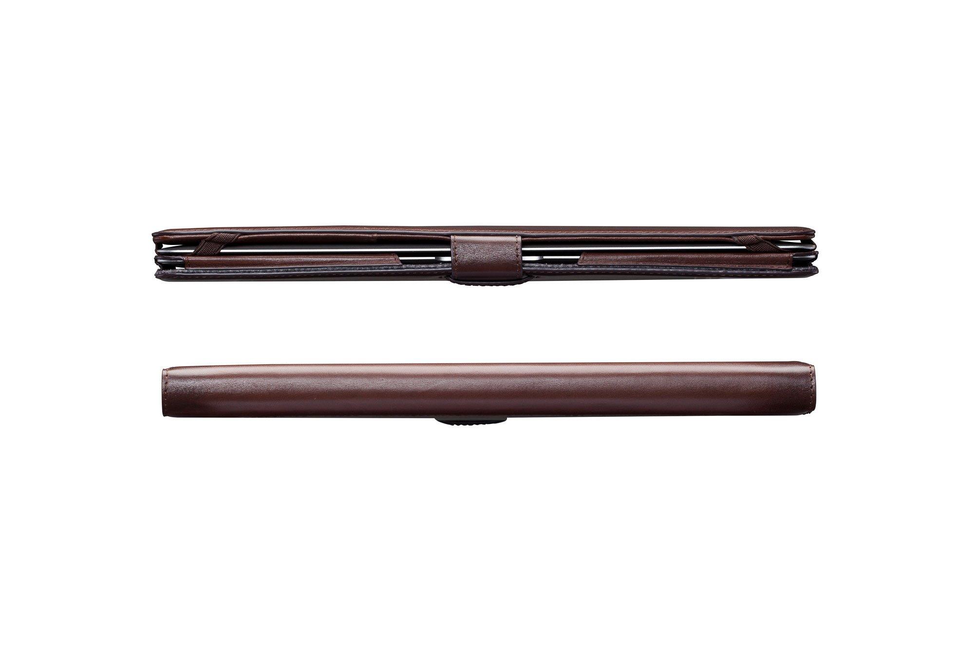 Sena Burnished Portfolio Case for 13-Inch MacBook Air (Tan) by Sena Cases (Image #4)