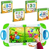 LeapFrog LeapStart Interactive Learning System Preschool and Pre-Kindergarten for Kids Ages 2-4, + level 1 Set of of Educational Learning Basic Skills for Life Fun Activity Bundle