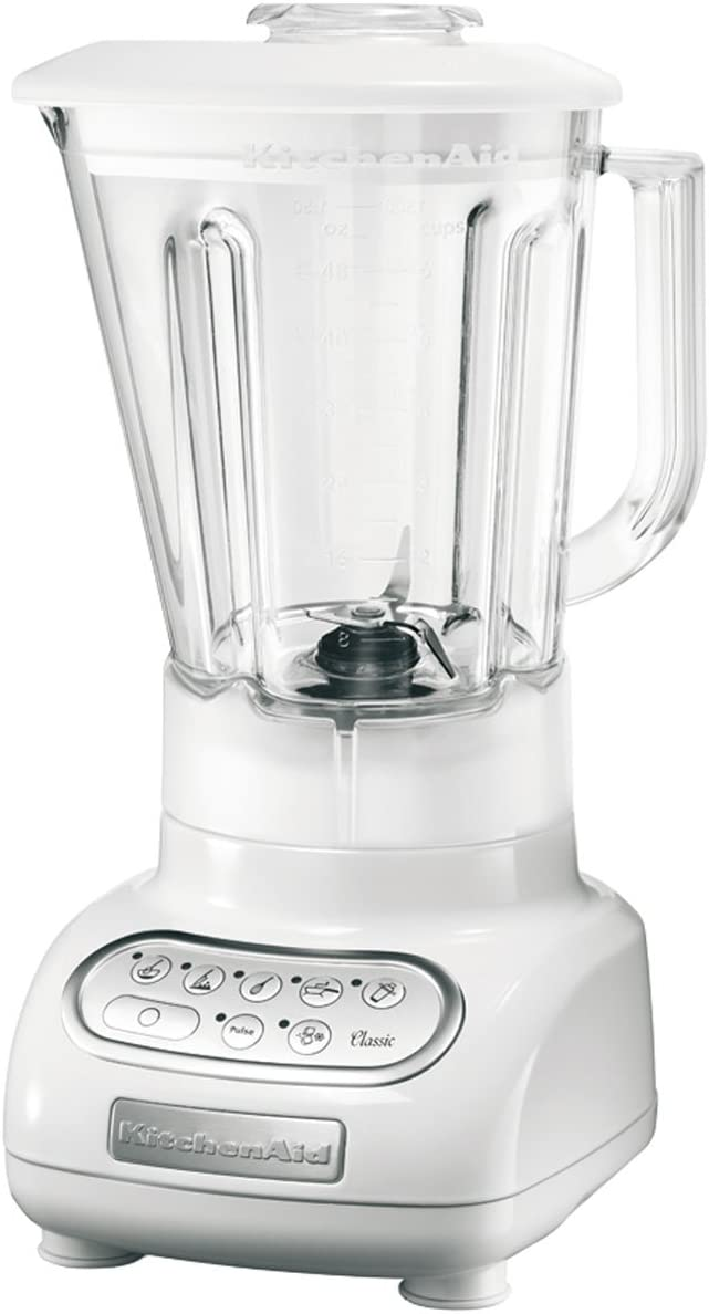 KitchenAid Artisan, Vidrio, Acero inoxidable, Blanco, 220 ...