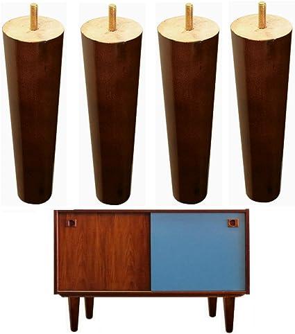 4 patas de madera para muebles IKEA Couch pies de repuesto de ...