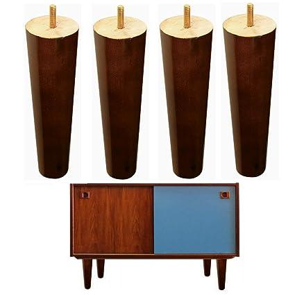 4 patas de madera para muebles IKEA Couch pies de repuesto ...