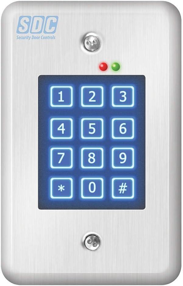 Security Door Controls EntryCheck 918 Digital Keypad 918U