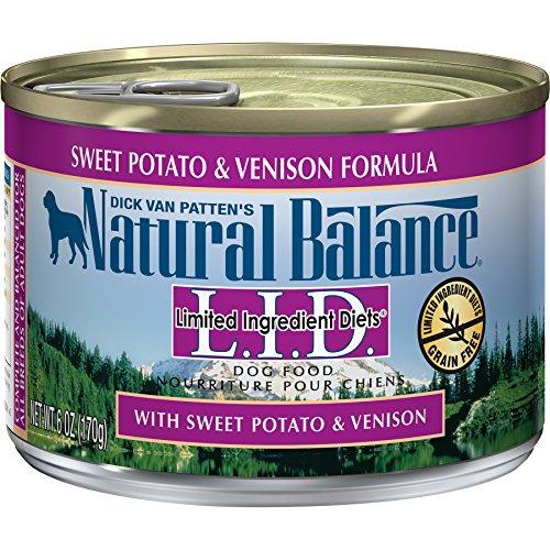 Natural Balance Diets Canned Sweet Potato & Venison Formula Dog Food (12 Pack), 12-6 oz