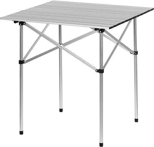 De Aluminio Plegable Mesa de Camping, mesas de Acampada 70x70x70 ...