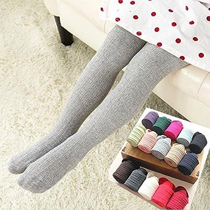 Amazon Guixinweiheng 6pcs Children Pantyhose Cotton Girls