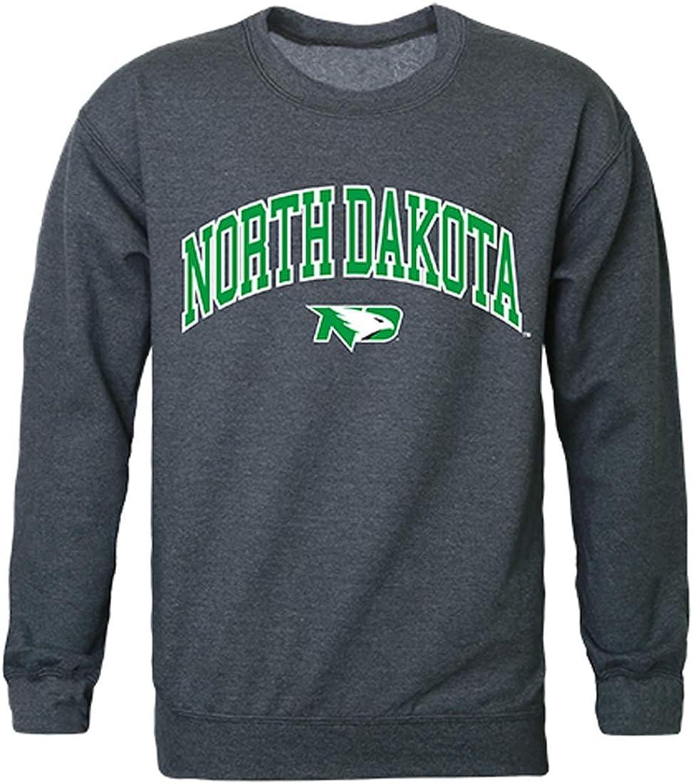 W Republic UND University of North Dakota NCAA Mens Campus Crewneck Fleece Sweatshirt
