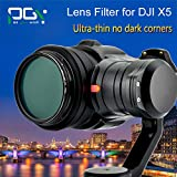 PGY ND2-400+ MCUV +CPL for DJI OSMO inspire1 X5 Camera Lens Fader ND Filter Adjustable gimbal Quadcopter drone parts