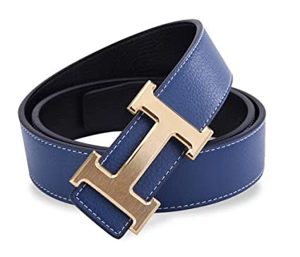 11d7f8d5f GoblinKingdom Men's Business Casual Leather Belt with Pin Buckle ...