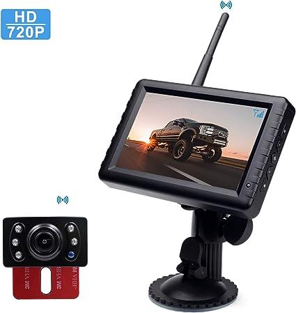 """5/"""" Big Screen Monitor Night Vision BOSCAM K7 Digital Wireless Reversing Camera"""