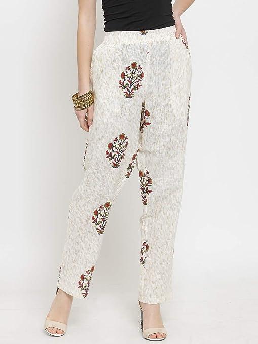 kiaasa-women-beige-ethnic-motifs-cotton-trouser