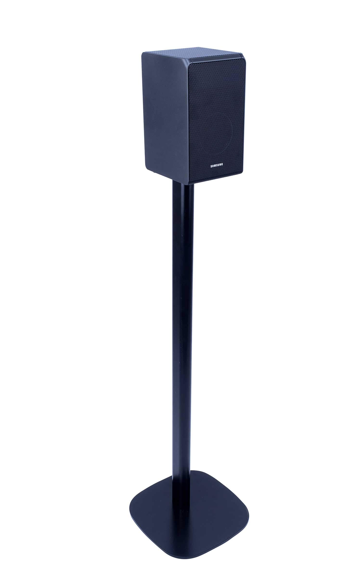 Vebos Floor Stand Samsung HW-N950 Black en Optimal Experience in Every Room - Allows You to Place Your Samsung HW-N950 Exactly Where You Want it - Two Years Warranty by Vebos