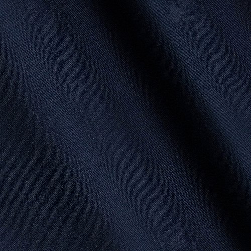 (Robert Kaufman Bi Stretch Tropical Suiting Twill Fabric by The Yard, Navy)