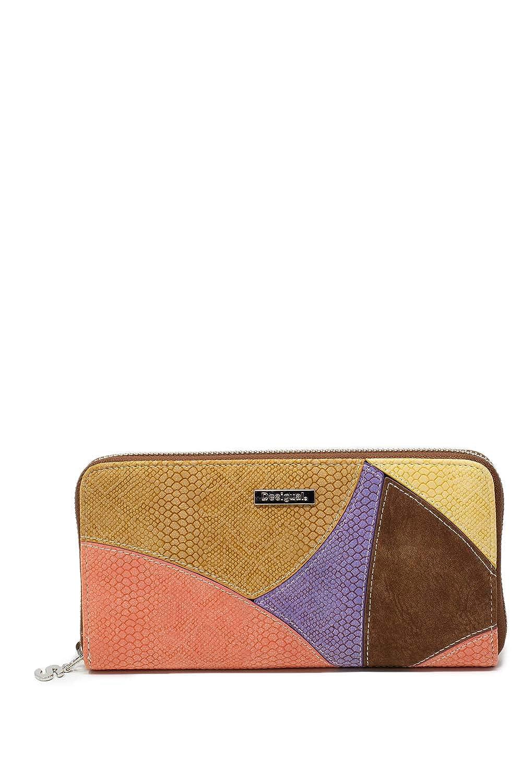 DESIGUAL Wallet JACKIE FIONA Female Beige - 19SAYP06-6008-U ...