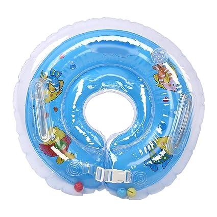 Fdit Schwimm Cuello Flotador para bebé Lindo baño Hinchable ...