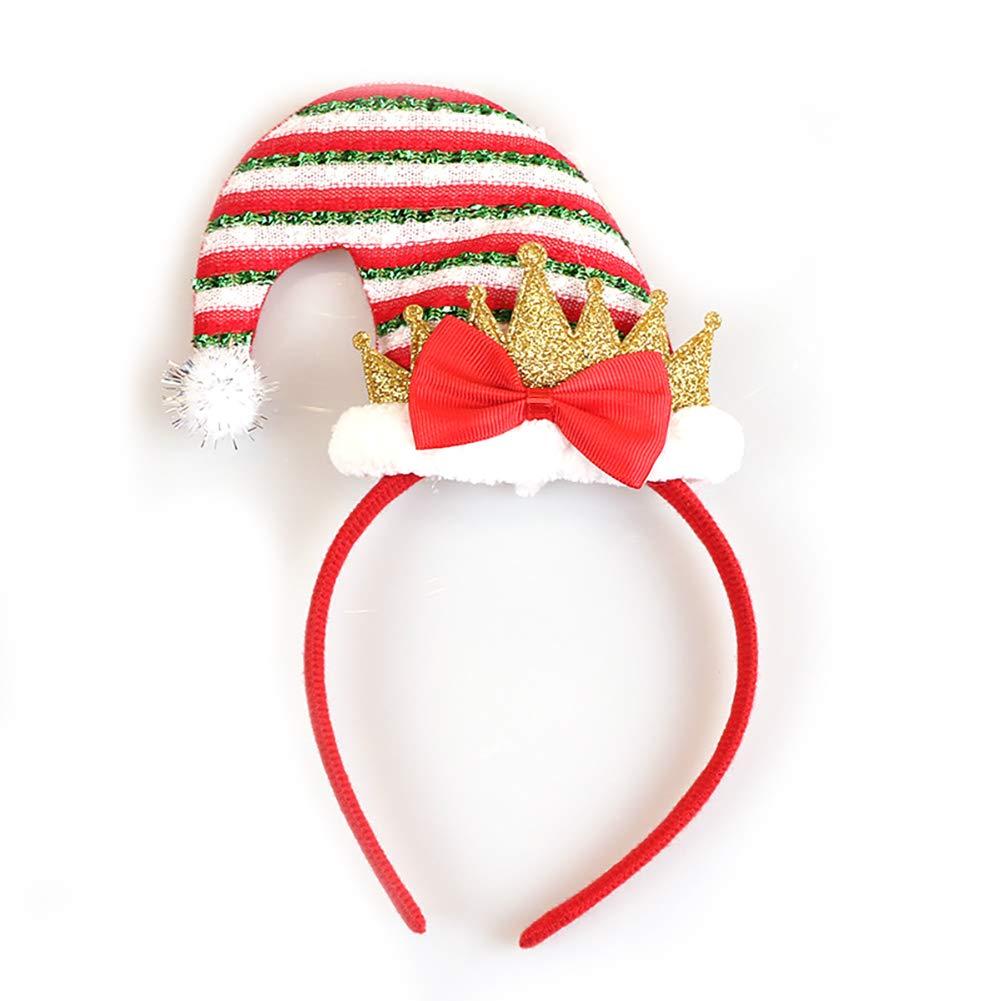 Rocita - Diadema de Navidad con diseño de Elfo de Papá Noel para ...