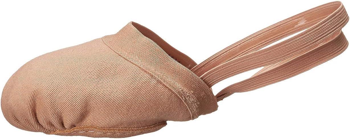 Bloch Spin II Half Ballet Shoe with Strap L Flesh