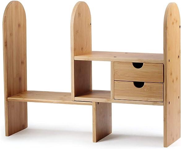 Reviewed: Bamboo Desktop Organizer Office Shelves