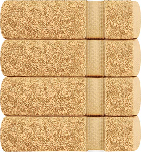 Utopia Towels Luxury Bath Towels, 4 Pack, 27×54 Inch, 700 GSM Hotel Towels (Beige)