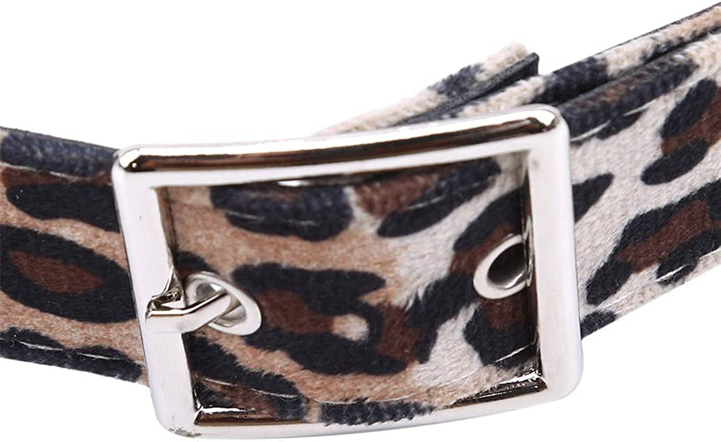 GOMYIE Leopard Print Weaving Belt WomenS Waist Belts Vintage Belt For Women Dress