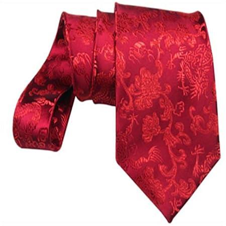 YYB-Tie Corbata Moda Corbata de Bodas de Seda de Matrimonio de ...