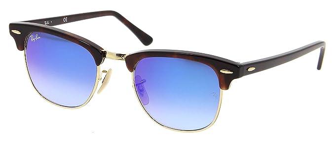 Amazon.com: Ray-Ban Rb3016 Clubmaster degradado – Gafas de ...