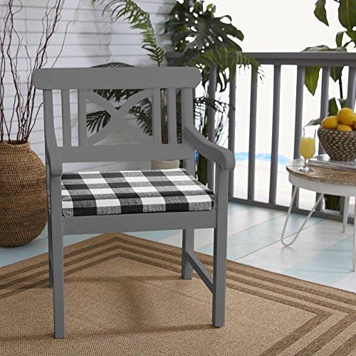Mozaic AMCS114437 Premier Prints Bristol Chair Pad Cushion (Set of 2), 20